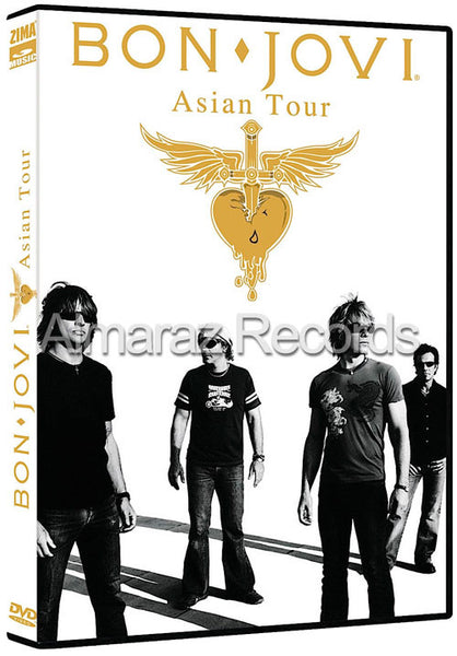 Bon Jovi Asian Tour DVD - Live At Tokyo Dome 2008 - Almaraz Records | Tienda de Discos y Películas