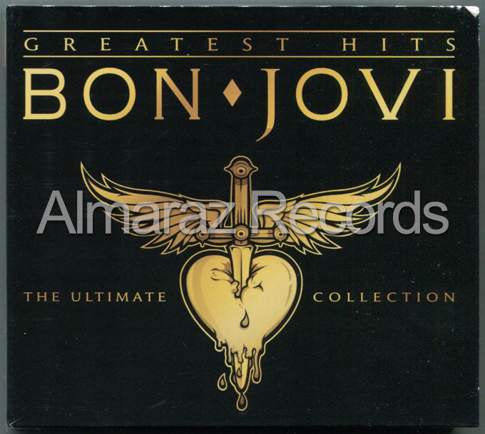 Bon Jovi Greatest Hits 2CD