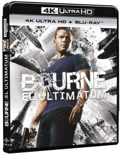 Bourne El Ultimatum Blu-Ray 4K Ultra HD + Blu-Ray