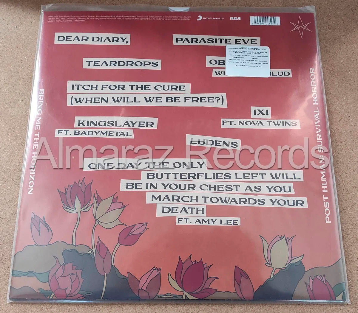 Bring Me The Horizon Post Human Survival Horror Vinyl LP