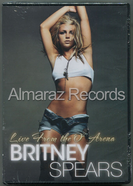 Britney Spears Live From O2 Arena DVD