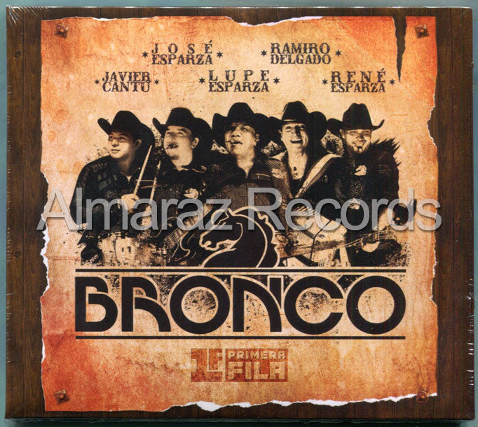 Bronco Primera Fila CD+DVD