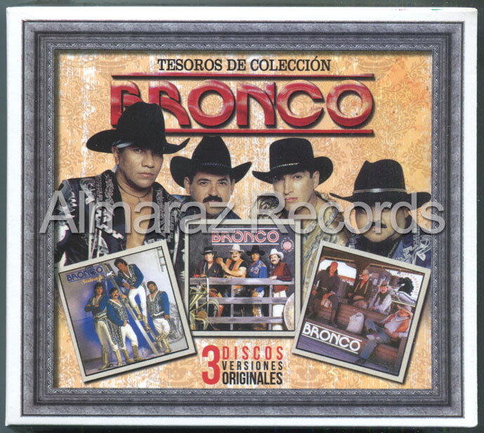 Bronco Tesoros De Coleccion Vol. 3 3CD