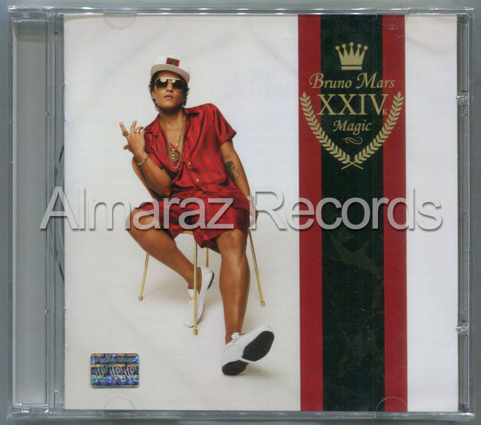 Bruno Mars 24K Magic CD - XXIVk - Almaraz Records | Tienda de Discos y Películas  - 1
