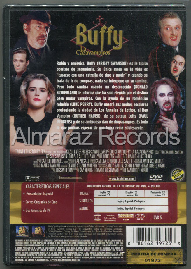 Buffy La Cazavampiros DVD