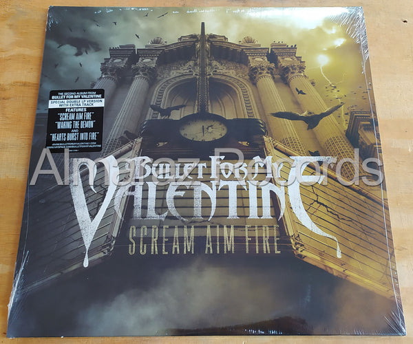 Bullet From My Valentine Scream Aim Fire Vinyl LP