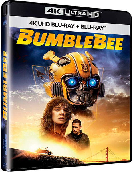 Bumblebee Blu-Ray 4K Ultra HD + Blu-Ray