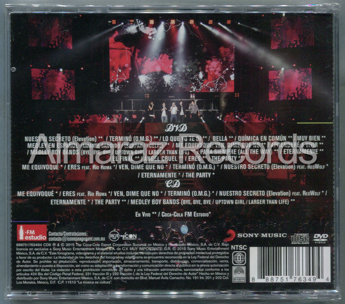 CD9 The Last Party CD+DVD - Almaraz Records | Tienda de Discos y Películas  - 2