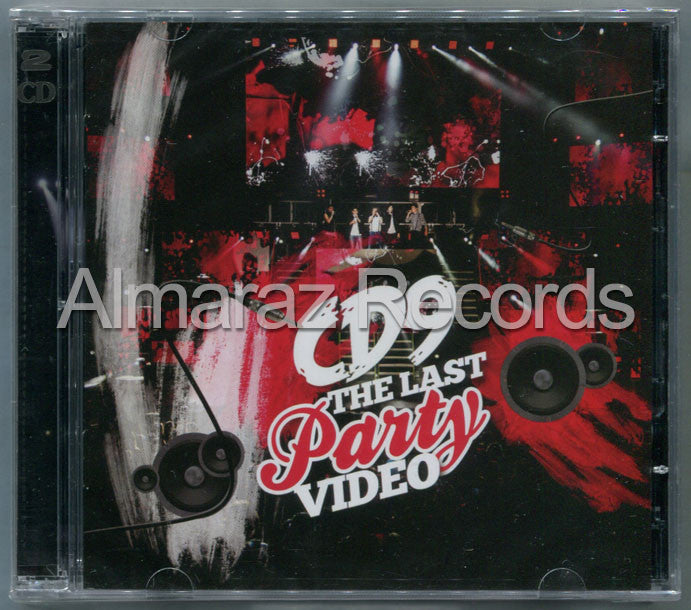 CD9 The Last Party CD+DVD - Almaraz Records | Tienda de Discos y Películas  - 1