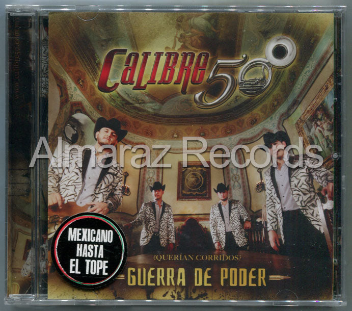 Calibre 50 Guerra De Poder CD