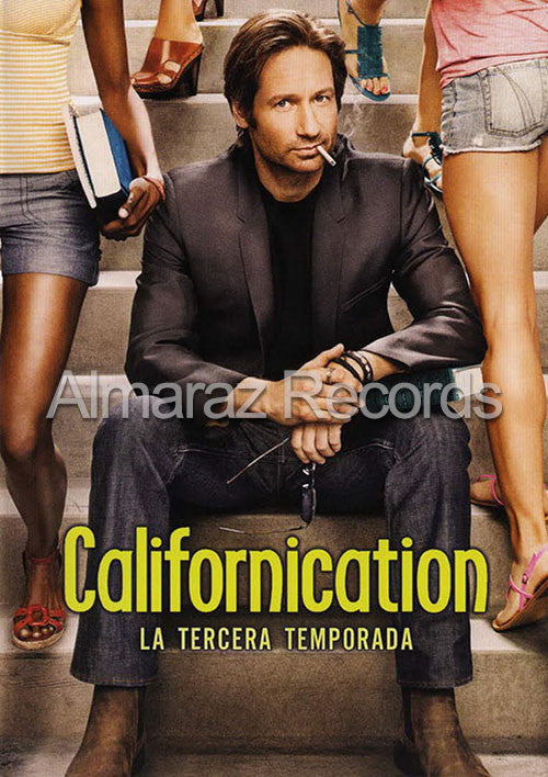 Californication Temporada 3 DVD - Almaraz Records | Tienda de Discos y Películas