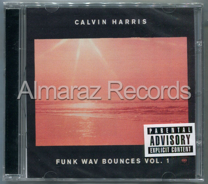 Calvin Harris Funk Wav Bounces Vol. 1 CD