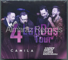 Camila & Sin Bandera 4 Latidos Tour 2CD+DVD