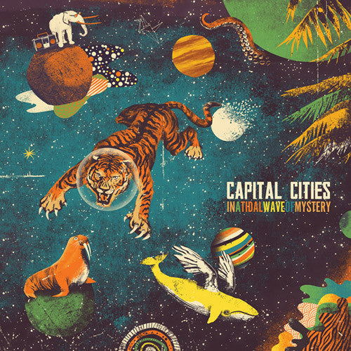 Capital Cities In A Tidal Wave Of Mystery CD - Almaraz Records | Tienda de Discos y Películas