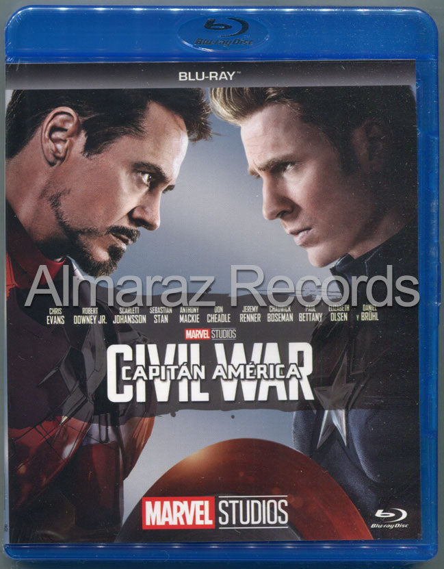 Capitan America Civil War Blu-Ray
