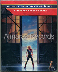 Capitana Marvel Steelbook Blu-Ray+DVD