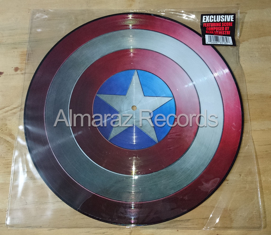 Captain America The First Avenger Vinyl LP Picture Disc