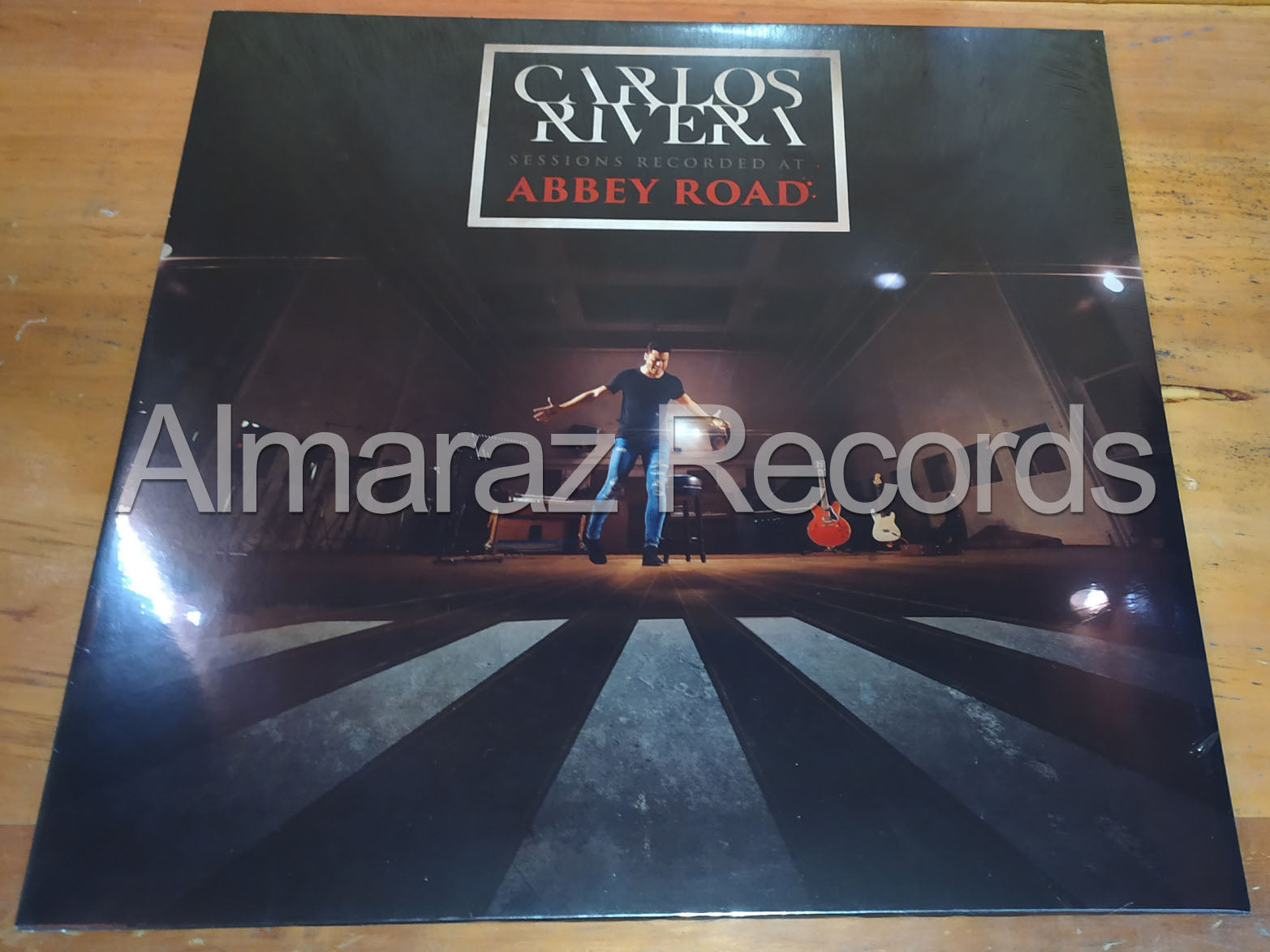 Carlos Rivera Sessions Recorded At Abbey Road Vinyl Lp