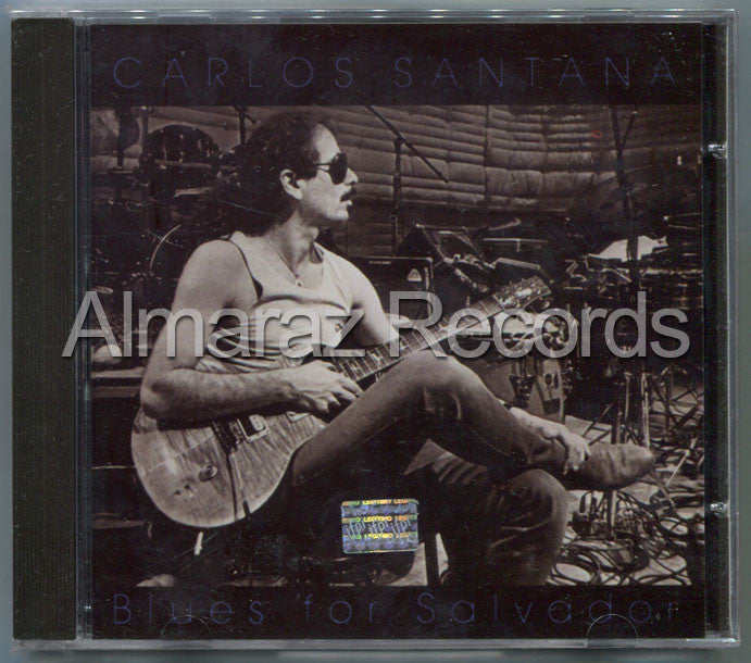 Carlos Santana Blues For Salvador CD - Almaraz Records | Tienda de Discos y Películas  - 1