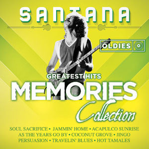 Carlos Santana Greatest Hits Oldies Memories Collection CD - Almaraz Records | Tienda de Discos y Películas