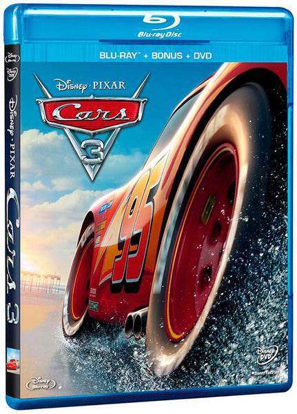 Cars 3 Blu-Ray+DVD