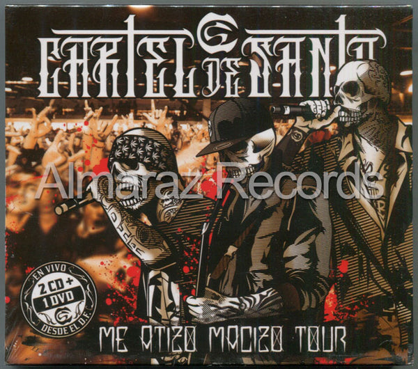 Cartel De Santa Me Atizo Macizo Tour 2CD+DVD