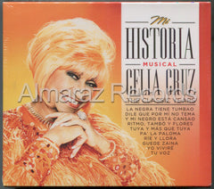 Celia Cruz Mi Historia Musical The Classic Years 3CD