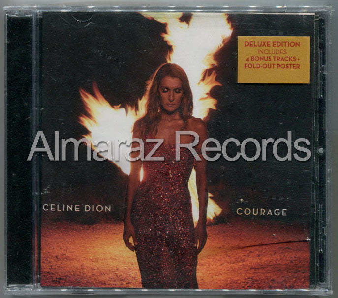 Celine Dion Courage Deluxe Edition CD