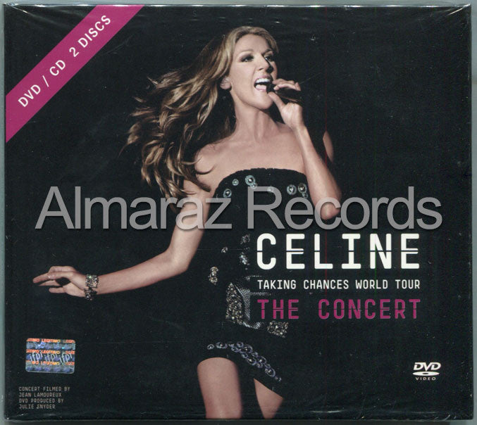 Celine Dion Taking Chances World Tour The Concert CD+DVD - Almaraz Records | Tienda de Discos y Películas  - 1