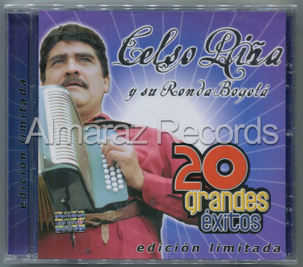 Celso Piña 20 Grandes Exitos CD