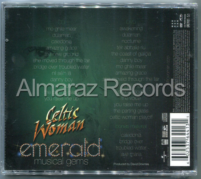 Celtic Woman Emerald Musical Gems Deluxe CD+DVD - Almaraz Records | Tienda de Discos y Películas  - 2