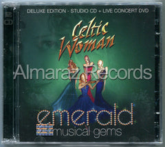 Celtic Woman Emerald Musical Gems Deluxe CD+DVD - Almaraz Records | Tienda de Discos y Películas  - 1
