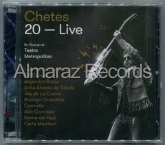 Chetes 20 Live CD+DVD