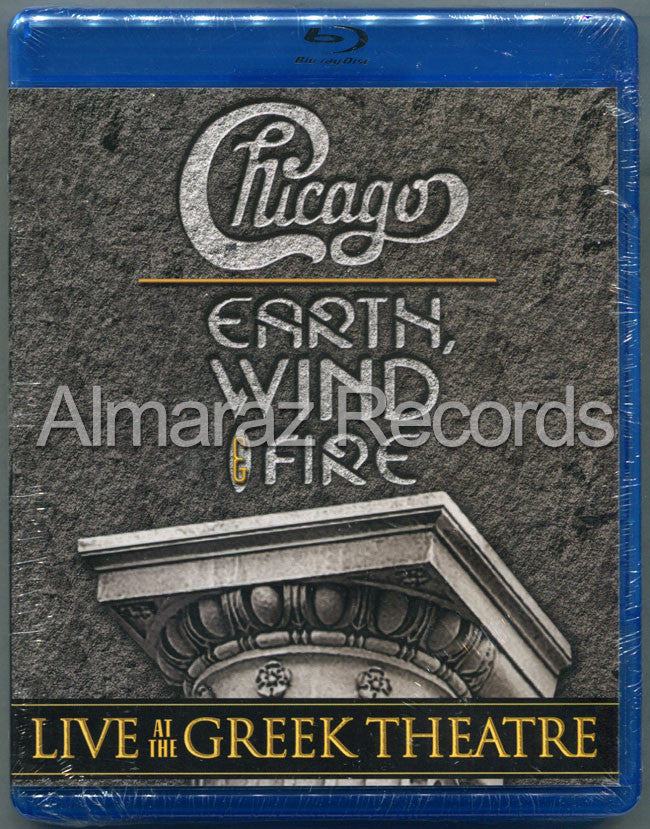 Chicago & Earth Wind And Fire Live At The Greek Theatre Blu-Ray - Almaraz Records | Tienda de Discos y Películas  - 1