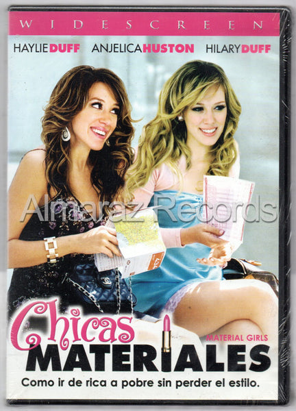 Chicas Materiales DVD