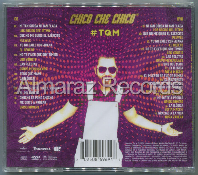 Chico Che Chico #TQM Tons Que Mami CD+DVD