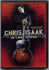 Chris Isaak Mr. Lucky In Spain DVD - Live In Spain 2012 - Almaraz Records | Tienda de Discos y Películas  - 1