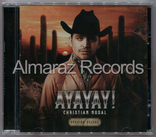Christian Nodal Ayayay Version Deluxe Cd