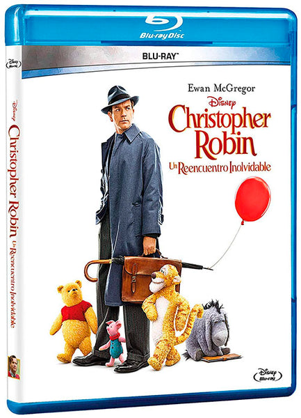 Christopher Robin Un Reencuentro Inolvidable Blu-Ray