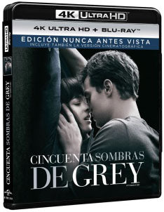 Cincuenta Sombras De Grey Blu-Ray 4K Ultra HD + Blu-Ray