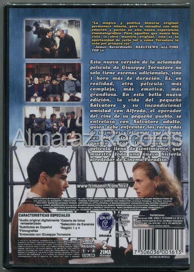Cinema Paradiso La Version Del Director DVD