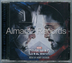 Captain America Civil War Soundtrack CD - Almaraz Records | Tienda de Discos y Películas  - 1