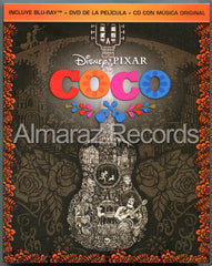 Coco Blu-Ray+DVD+CD
