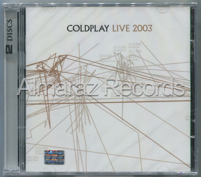 Coldplay Live 2003 CD+DVD