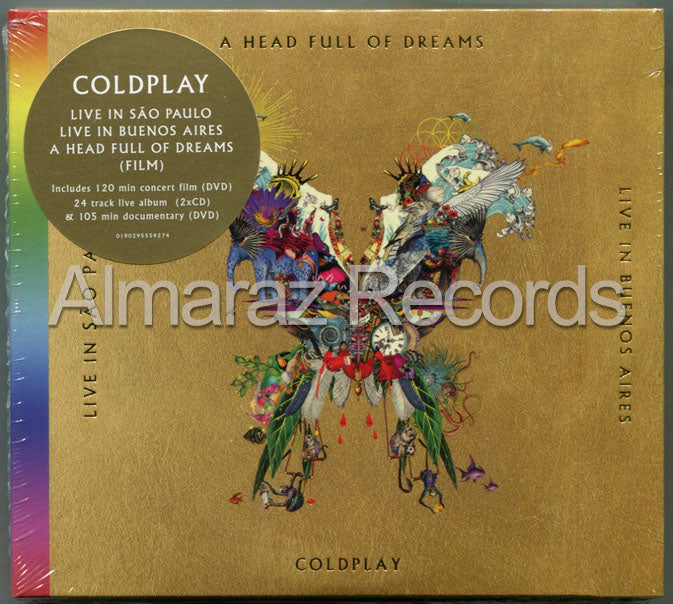 Coldplay Live In Buenos Aires & Sao Paulo 2CD+2DVD