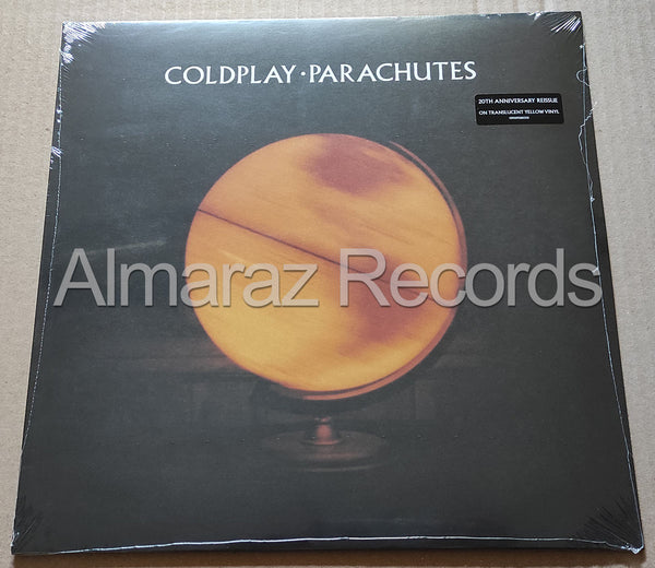 Coldplay Parachutes Translucent Yellow Vinyl LP