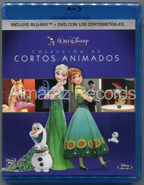 Disney La Coleccion De Cortos Animados Blu-Ray+DVD