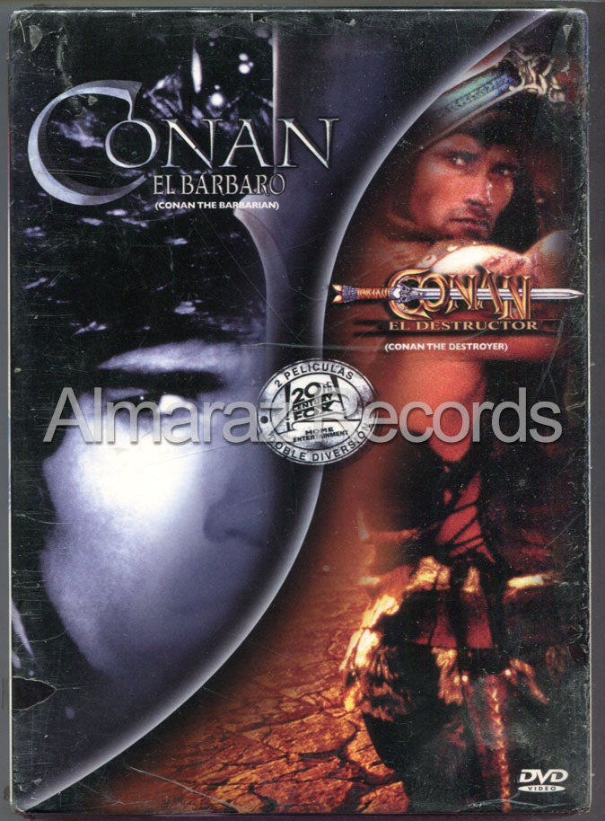 Conan El Barbaro & El Destructor DVD