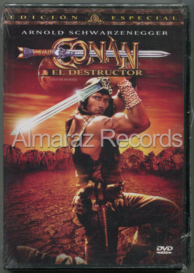 Conan El Destructor DVD