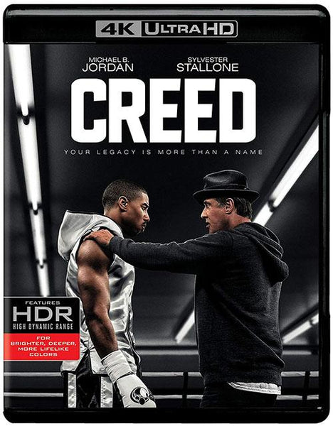 Creed Corazon De Campeon Blu-Ray 4K Ultra HD + Blu-Ray